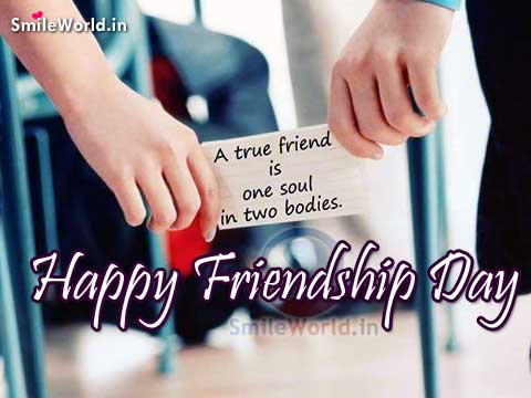 A True Friend Quotes for Happy Friendship Day Images