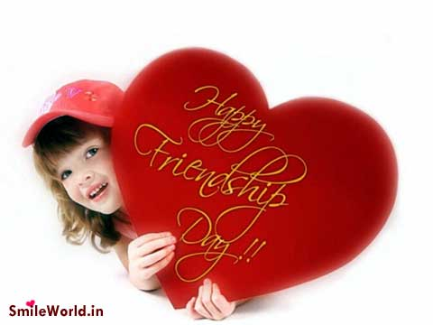 Happy Friendship Day SMS Wishes Heart Images