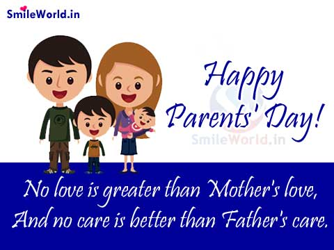 Mother and Father Quotes on Parents Day Images