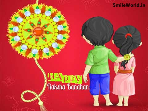 Sister to Brother Happy Raksha Bandhan Images