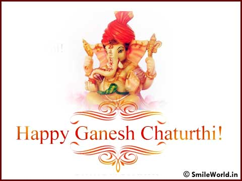 Happy Ganesh Chaturthi Images and Greeting Cards
