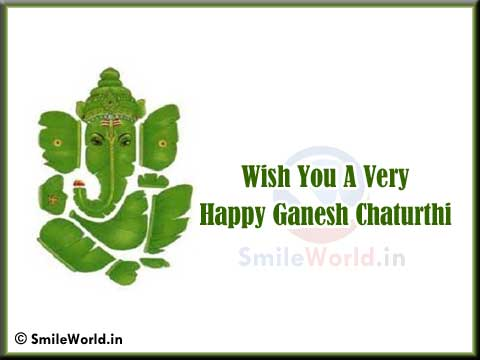 Happy Ganesh Chaturthi Wishes Pictures Greetings