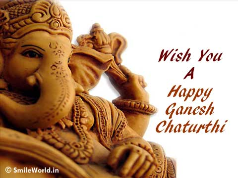 Latest Happy Ganesh Chaturthi SMS Messages Wallpapers Images