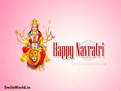 Happy Navratri Hindi Images Wishes Messages for Facebook and Whatsapp