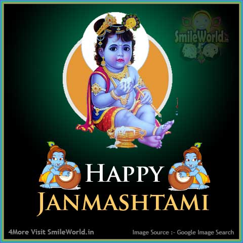 Happy Janmashtami Image for Facebook