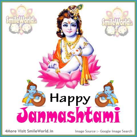 Happy Janmashtami Image for Whatsapp Status