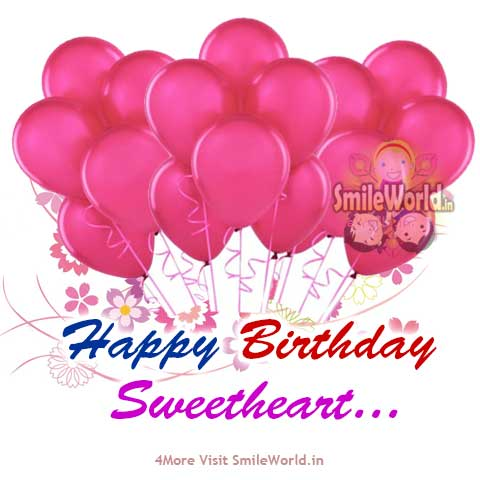 Happy Birthday Sweetheart Wishes in Hindi