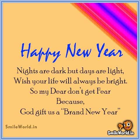 Happy New Year My Dear Friends