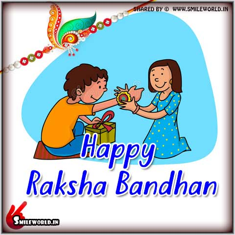 Happy Raksha Bandhan Status Wishes Images