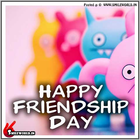 Happy Friendship Day Pic SMS for Whatsapp Status
