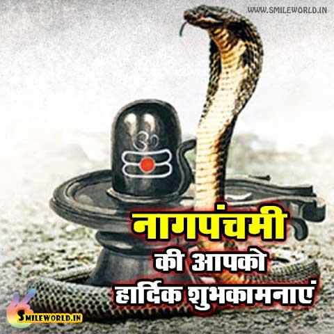 Nag Panchami Ki Hardik Shubhkamnaye in Hindi