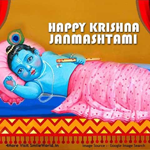 Download Happy Krishna Janmashtami Status Images
