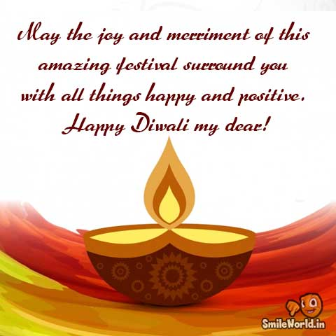 Diwali Message For Friends in English