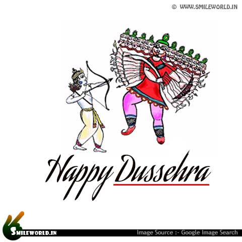 Happy Dussehra Wishes Pictures for Whatsapp Status