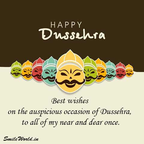 Happy Dussehra and Vijaya Dashami Greetings