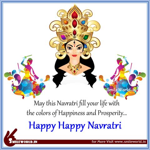 Happy Navratri Images Messages in English Status