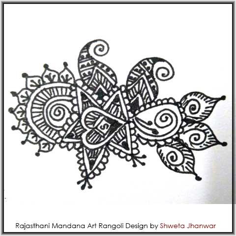 Mehndi Mandala Design by Shweta Jhanwar
