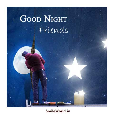 Good Night Friends Images Wallpapers