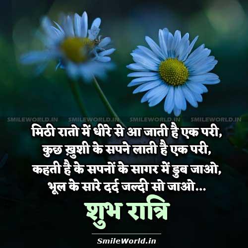 Good Night Shayari in Hindi with Images