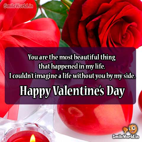 Happy Valentine Day Wishes for Girlfriend in English
