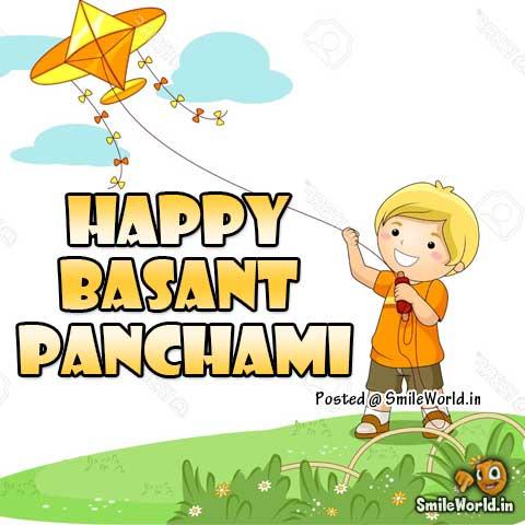 Happy Vasant Panchami Wallpaper Greetings in Hindi