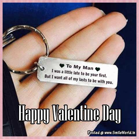 To My Man Happy Valentine Day Image