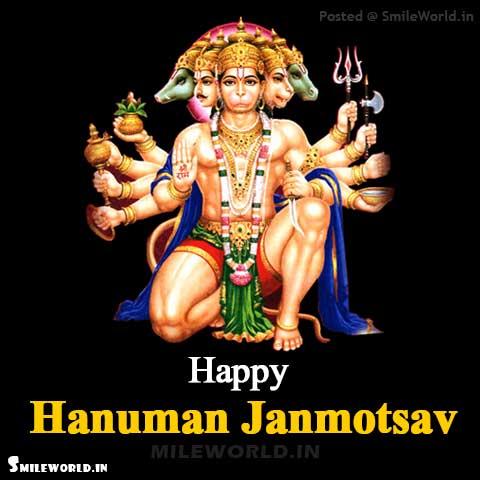 Happy Hanuman Janmotsav Pictures for Whatsapp Status