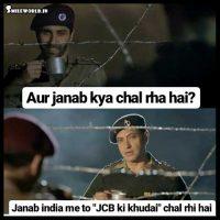 JCB Ki Khudai Chal Rahi Hai Funny Memes