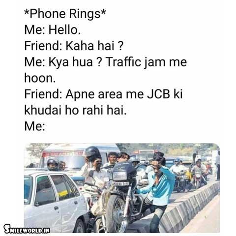 JCB Ki Khudai Funny Jokes in Hindi