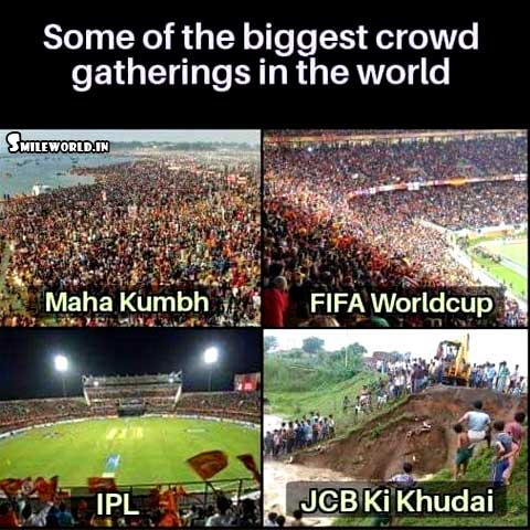 JCB Ki Khudai Meme Funny Images for Facebook