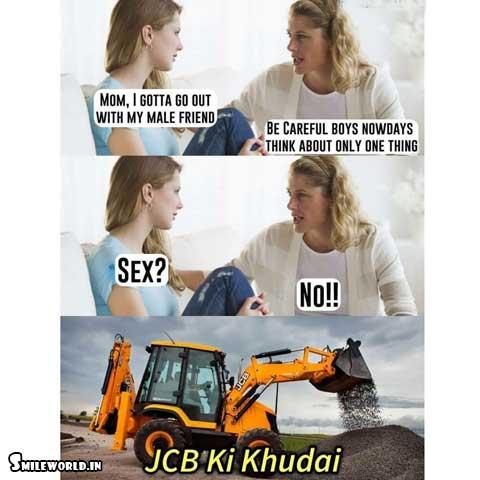 JCB Ki Khudai Twitter Funny Memes