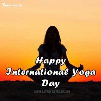 Happy International Yoga Day Images for Whatsapp Status