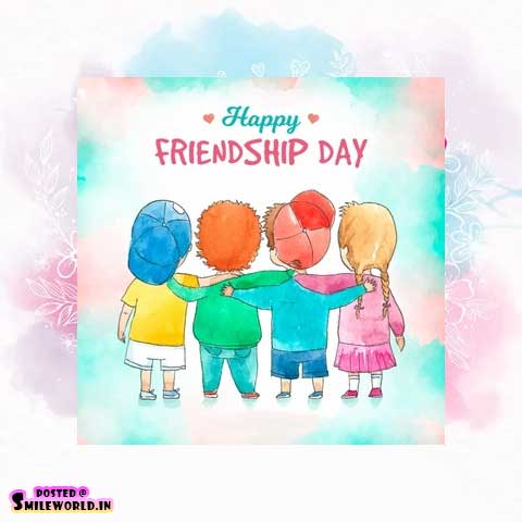 Happy Friendship Day Cute Images for Whatsapp