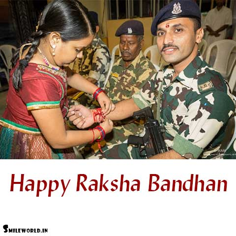 best rakhi card slogan for solders