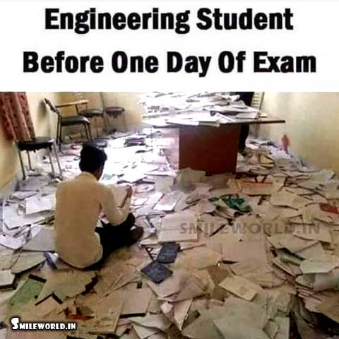 How To Study In Exam Time Funny Indian Boys