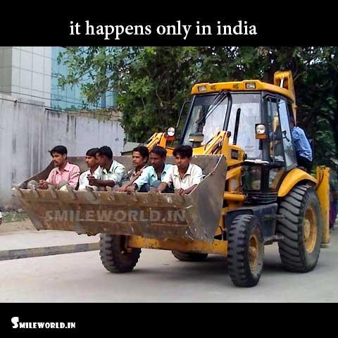 JCB Machine Funny Indian Transport Photos