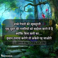 Galtiyaan Mistake in Relationship Quotes in Hindi