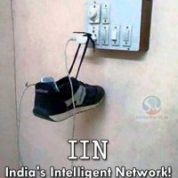 IIN India's Inteligent Network! Funny Picture