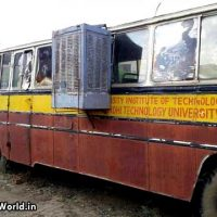 Cooler Jugaad in Indian Bus Funny Summer Pics
