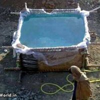 Desi Funny Jugaadu Swimming Pool in India