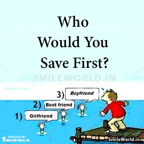 Who Would You Save First Comment Fast Images
