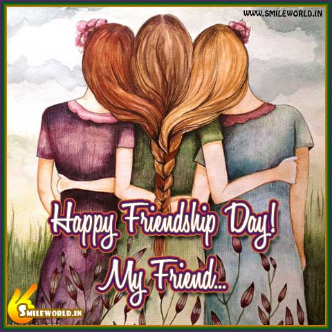 Happy Friendship Day! Wishes Status Images for Girls