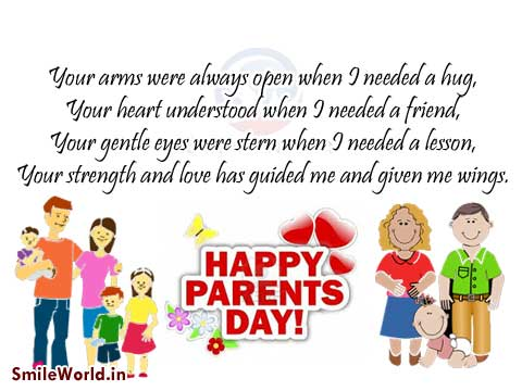 Happy Parents Day Wishes and Ecards Images