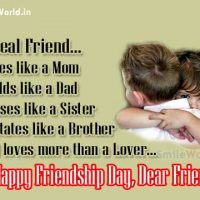 Real Friend Sayings Happy Friendship Day Images
