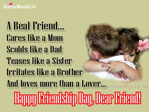 Real Friend Sayings Happy Friendship Day Images Wishes