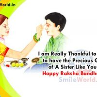Raksha Bandhan Greetings Wishes for Sister