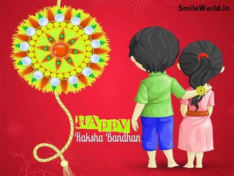 Sister to Brother Happy Raksha Bandhan Images