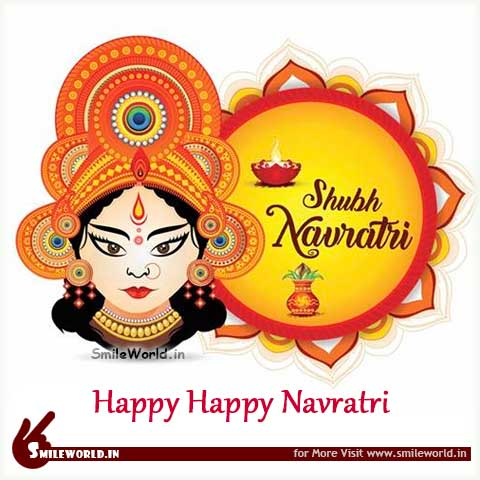 Beautiful Navratri Quotes Wishes Greetings Status Images