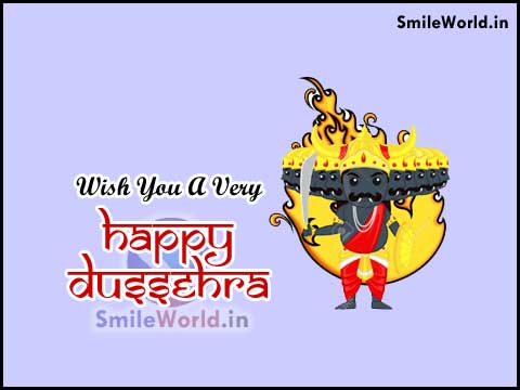 Wish You A Very Happy Dussehra Greetings in Hindi