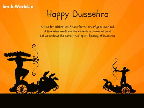 Latest Happy Dussehra Wishes Greetings in English
